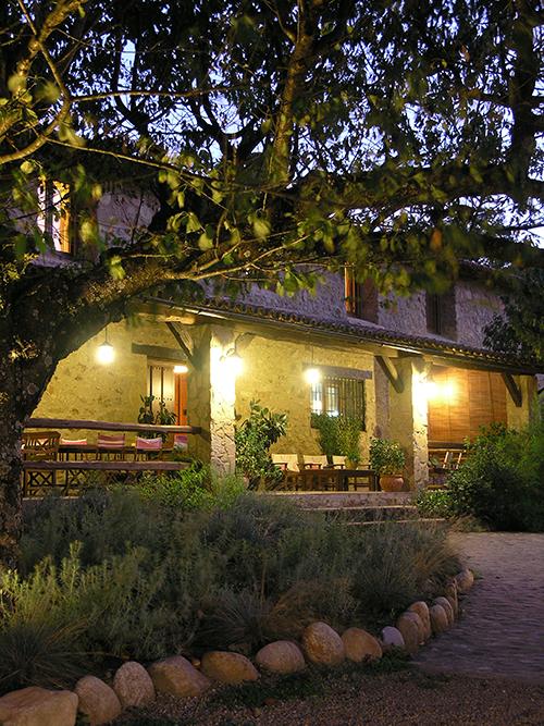 Zonas comunes del Hotel Rural El Cerezal de los Sotos en el Valle del Jerte