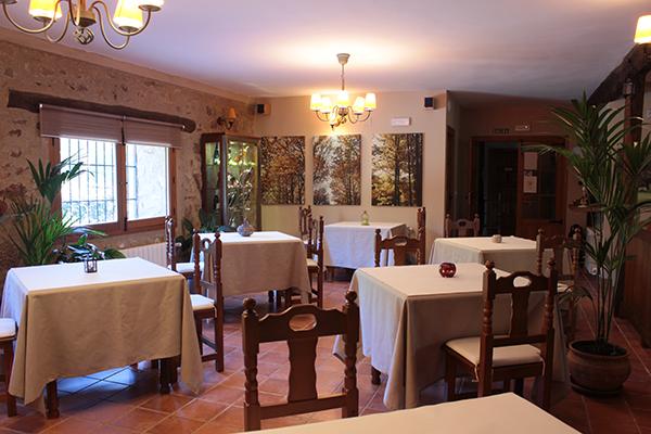 Comedor del Hotel Rural , reservado a clientes alojados.