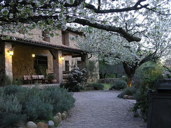 Entrada principal Hotel rural en Jerte, El Cerezal de los Sotos